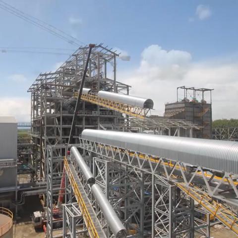 Time lapse construcción Termogeneradora Ingenio La Cabaña